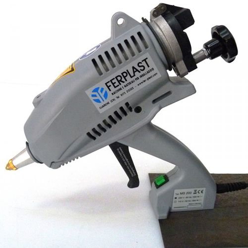Dispensing gun / hot-melt adhesive / manual / electric MS 200 A Ferplast