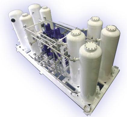 pure hydrogen generation unit / process / onsite