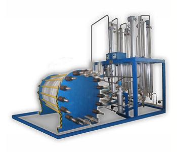 ultra high-purity hydrogen gas generator / process / multi-use / onsite