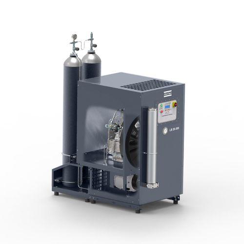 air compressor / nitrogen / stationary / electrically-powered