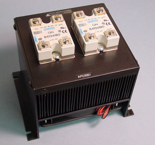Solid-state relay / control / DIN rail / panel-mount APC6010 Anacon Power & Controls