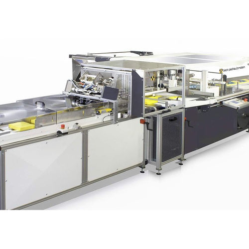 Horizontal bagging machine / H-FFS / automatic / paper napkins Multiplex MP mobil beck packautomaten