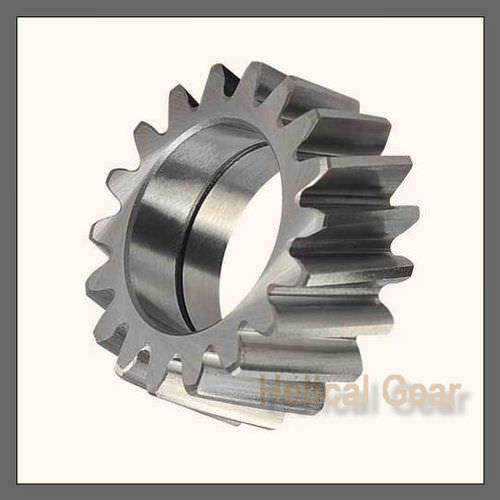 spur gear / helical / hub / steel