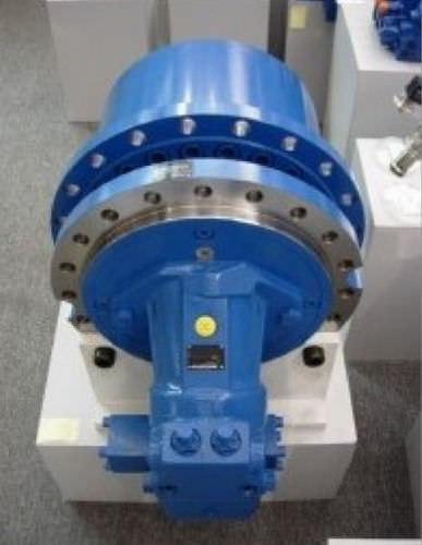 planetary gear reducer / coaxial / high-speed / for wheel and track drives