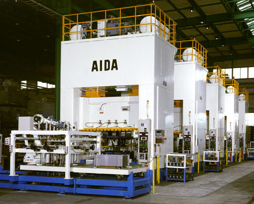 mechanical press / straightening / transfer