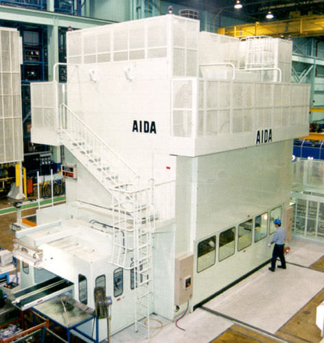 Mechanical press / transfer TMX Aida S.r.l.