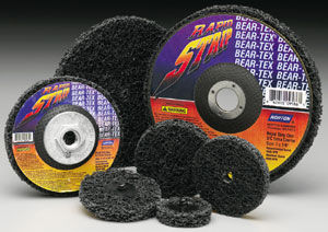 Synthetic fiber abrasive disc / welding / for metal / non-woven Norton Abrasives