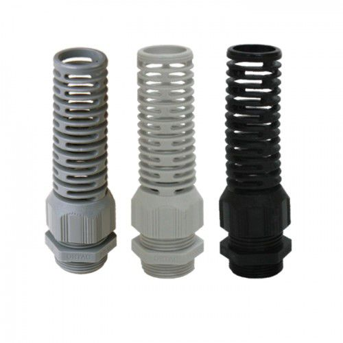 plastic cable gland / IP68 / halogen-free / vibration-resistant