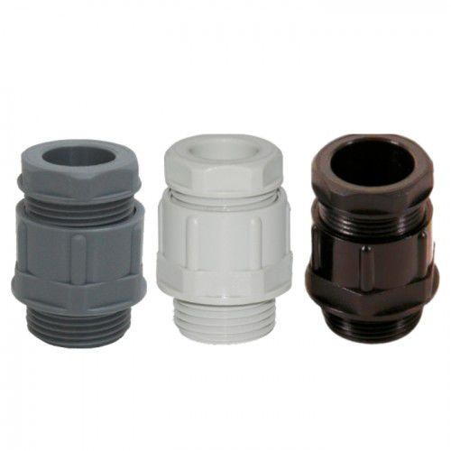 polyamide cable gland / IP54 / halogen-free / UV-resistant