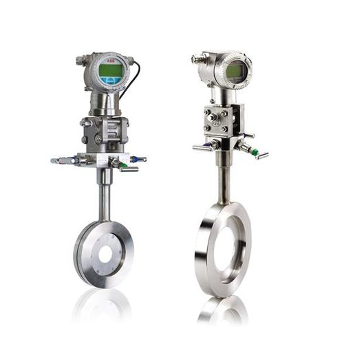 differential pressure flow meter / orifice / for gas / compact
