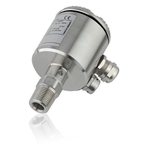absolute pressure transmitter / membrane / digital / flange