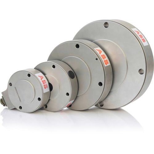 pancake type load cell / for web tension control