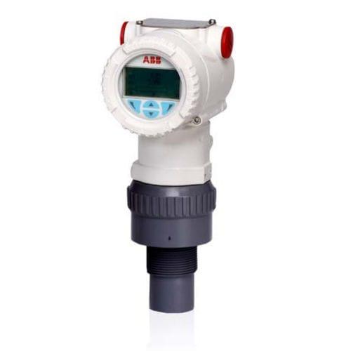 ultrasonic level transmitter / for liquids / compact / HART