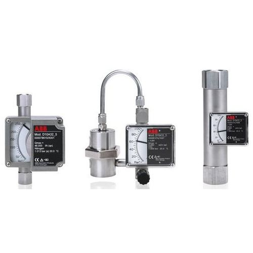 variable-area flow meter / for liquids / metal tube / in-line