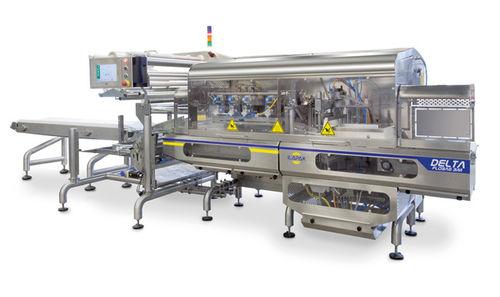 Flow wrapper bagging machine / H-FFS / continuous-motion / automatic Delta Flobag Series Ilapak