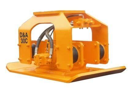 excavator vibratory plate