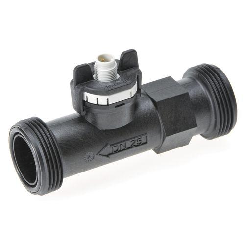 vortex flow meter / for liquids / for water / compact