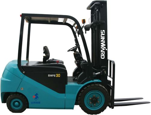 Electric forklift / ride-on / 4-wheel / handling 1 500 kg | SWFE15AC-4F1 SUNWARD INTELLIGENT EQUIPMENT CO.,LTD.