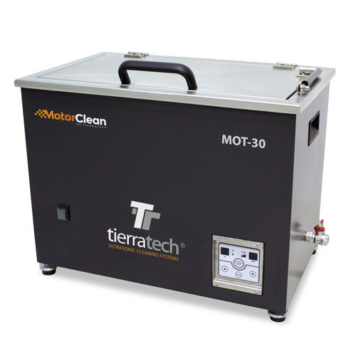 ultrasonic cleaning machine / for automotive applications / for aeronautical applications / for motors