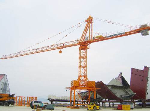 fixed crane / tower / construction / lifting