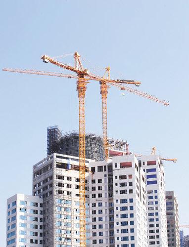 Fixed crane / tower / lifting / construction KH310-14 Everdigm