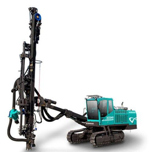 Blasthole drilling rig / crawler / tophammer / hydraulic ECD40E Everdigm
