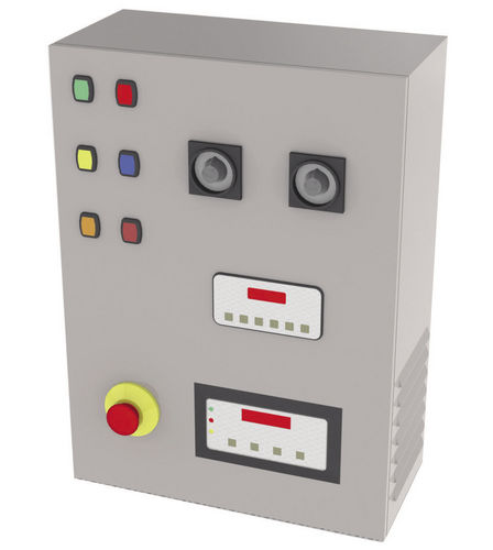 control cabinet / electric / benchtop / metal