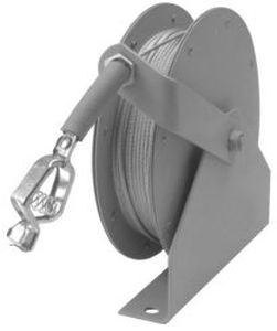 grounding reel / self-retracting / truck-mounted