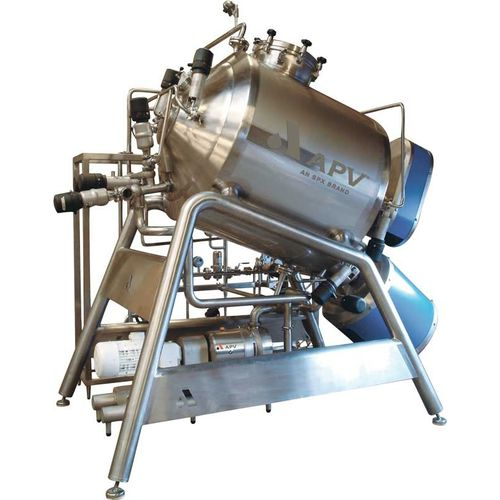 Rotor-stator mixer / batch / for liquids / for the chemical industry Flex-Mix Processor APV