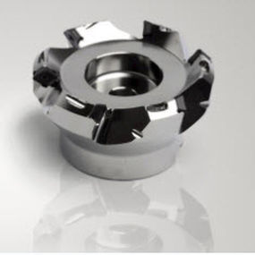 Shell-end milling cutter / with positive insert / face / high-precision Quattromill® SECO TOOLS