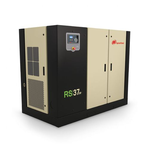 air compressor / fixed / electrically-powered / screw