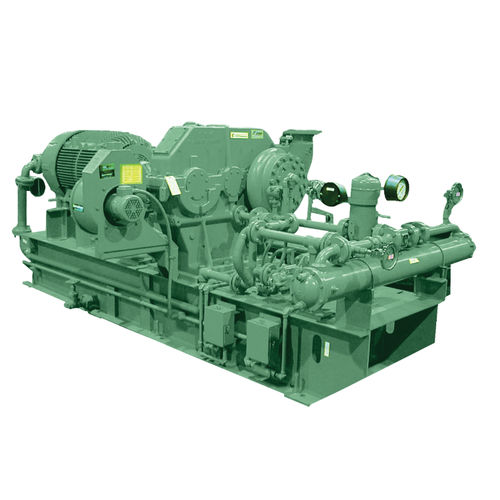 air compressor / gas / stationary / electrically-powered