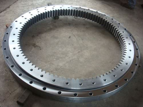 internal-toothed slewing ring / ball / single-row / four-point contact