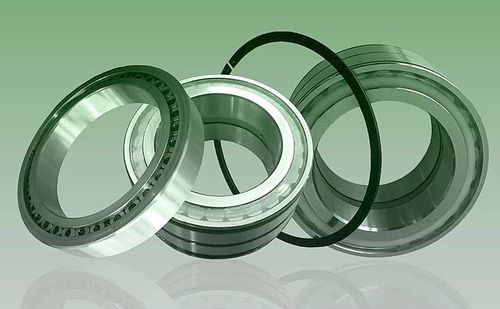 cylindrical roller bearing / double-row / steel / with cage