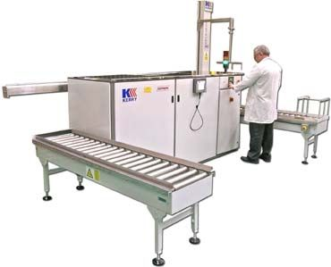 ultrasonic cleaning system / solvent / automated / for heavy-duty applications