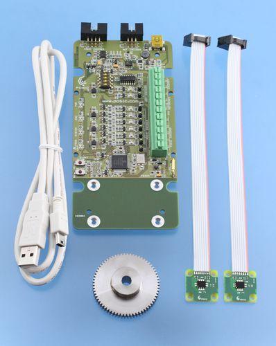 incremental rotary encoder / inductive / digital / non-contact