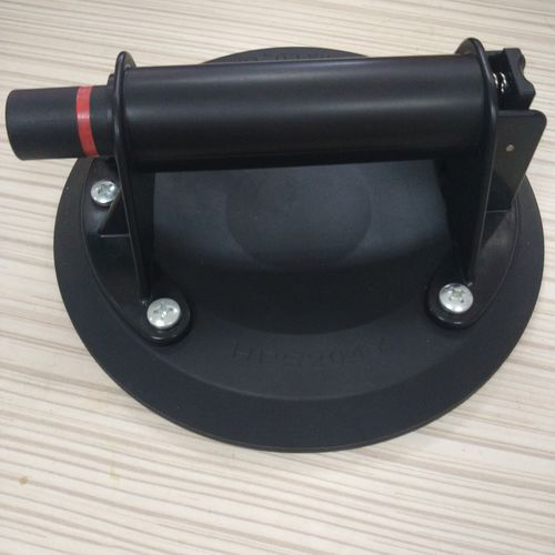 circular suction cup / flat / manual / with pump