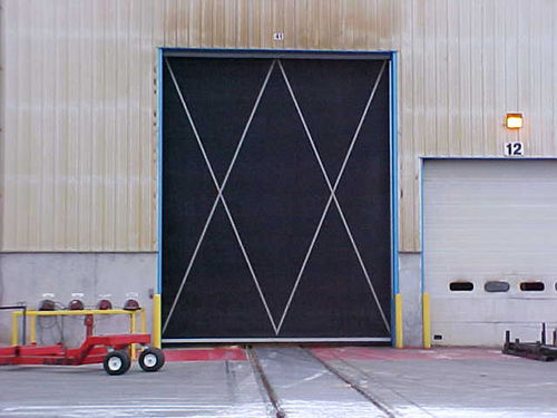 roll-up door / industrial / for the food industry / high-speed