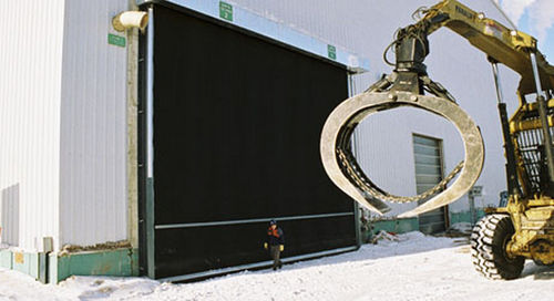 roll-up door / hangar / industrial / large