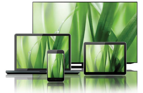 LCD screen / panel / industrial / large-format EAGLE XG® CORNING Display Technologies