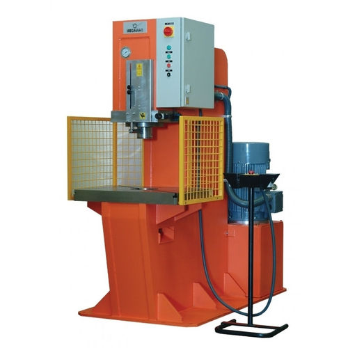 hydraulic press / punching / vertical / double-action