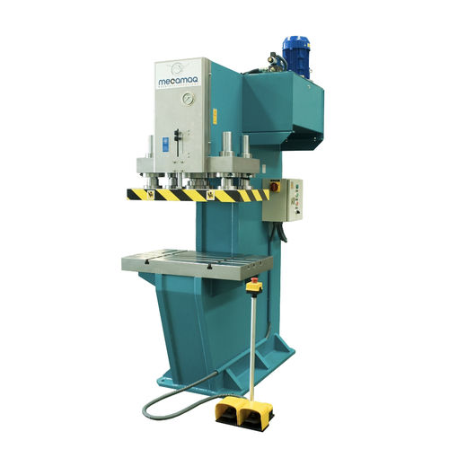 hydraulic press / forming / vertical / C-frame