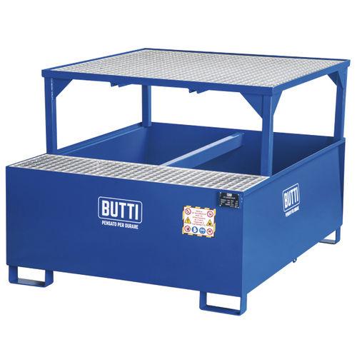 IBC container containment bund - BUTTI