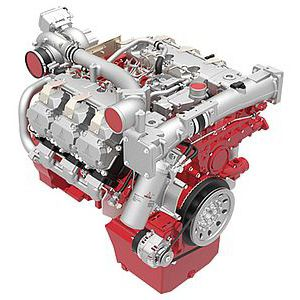 diesel engine / 6-cylinder / turbocharged / common rail