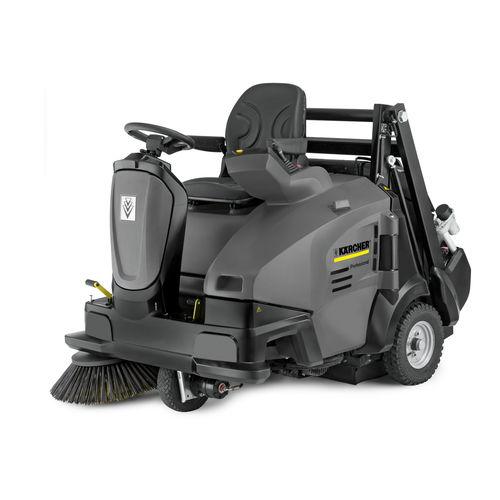 ride-on sweeper / diesel