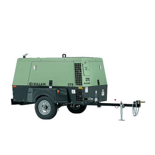 air compressor / mobile / diesel-powered / screw