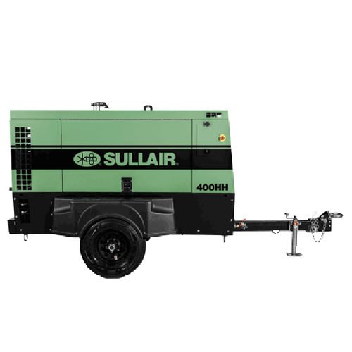 air compressor / mobile / diesel-powered / screw