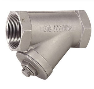 Liquid filter / strainer / Y / stainless steel PN 40 | JV-605  John Valve