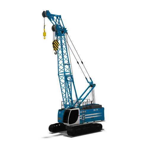 crawler crane / boom / lattice / hydraulic