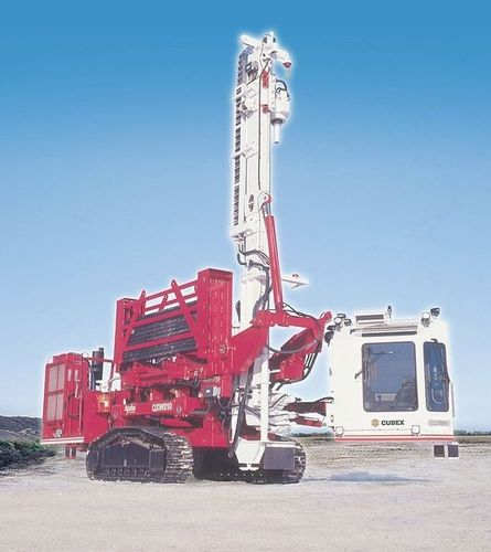 geotechnical drilling rig / crawler / rotary / down-the-hole